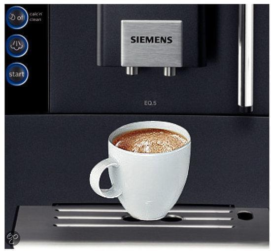 siemens eq 5 macchiato te503209rw volautomaat espressomachine elektronica. Black Bedroom Furniture Sets. Home Design Ideas