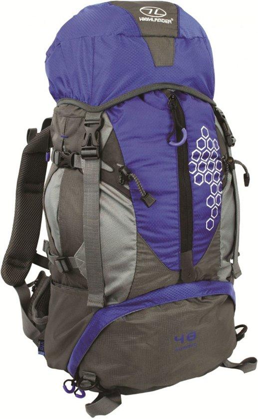 Highlander Summit - backpack met gaas - 40 liter - blauw in Ecaussinnes