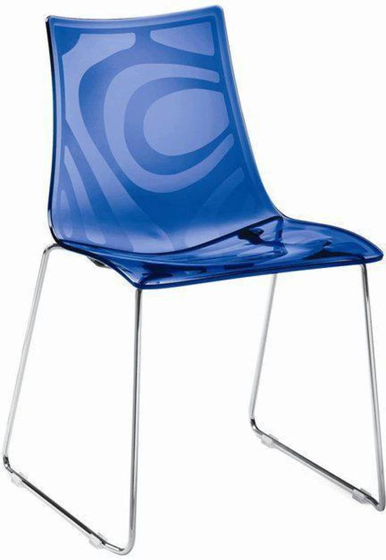 Scab zebra s stoel blauw - Stoel zebra ...