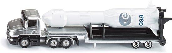 SIKU 1614 Dieplader met Raket in Anhée