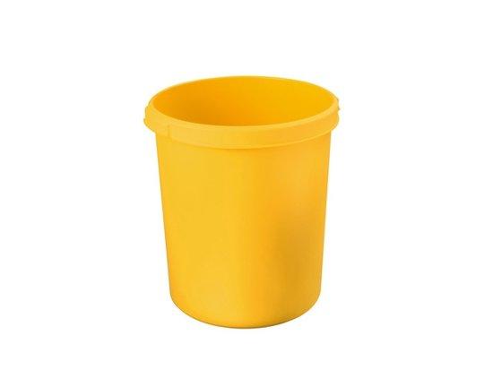 Papierbak HAN Standaard 30 liter geel in Wittelte