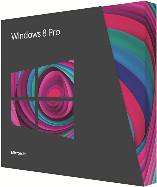Microsoft Windows 8 Pro DVD Nederlands Upgrade - 32-bit/64-bit