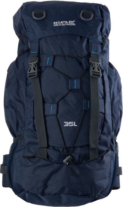regatta survivor ii 35 backpack 35 liter blauw sport en vrije tijd. Black Bedroom Furniture Sets. Home Design Ideas