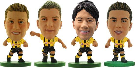 Soccerstarz BORUSSIA DORTMUND 4-pack André Schurrle|Marco Reus|Shinji Kagawa|Mario Götze in Vlissegem