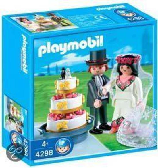 Playmobil Bruidspaar Met Taart - 4298