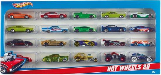 Hot Wheels Auto - Cadeauset (20 stuks)