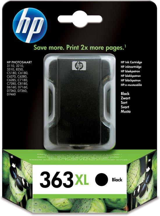 HP 363XL - Inktcartridge / Zwart / Hoge Capaciteit (C8719EE)