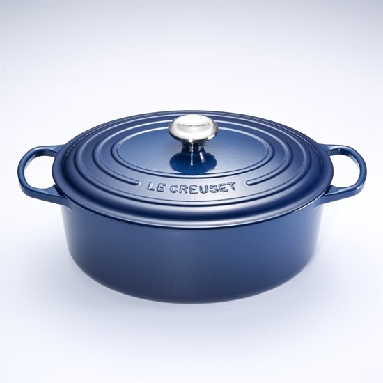 le creuset signature braadpan 6 3 liter 31 cm ink. Black Bedroom Furniture Sets. Home Design Ideas