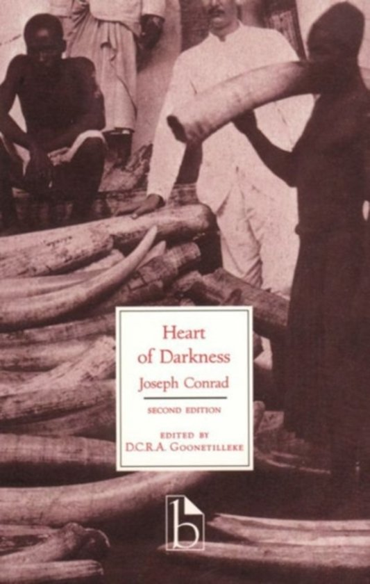 a review of joseph conrads heart of darkness Joseph conrad's heart of darkness is no exception in his novel, conrad uses a  unique writing style to explore man's fundamental fallibility and moral confusion.