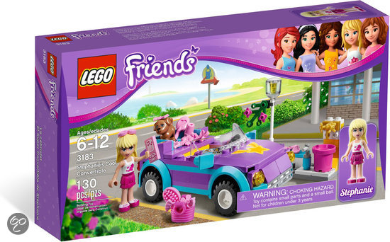 Lego Friends Cabriolet - 3183