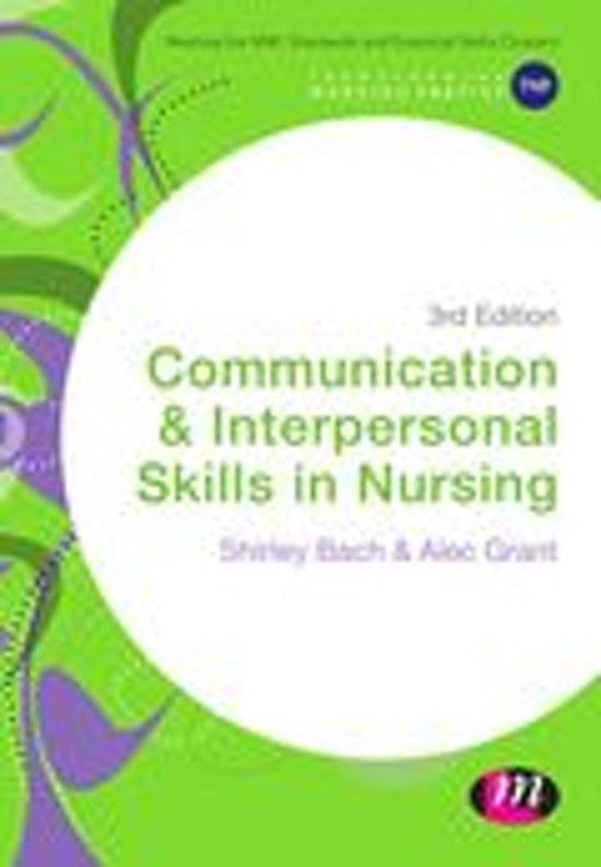 communication skills essays nurses