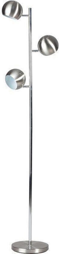 ...  24Designs Vloerlamp Cupido-3 bollen - RVS - Hoogte 160 cm  Wonen