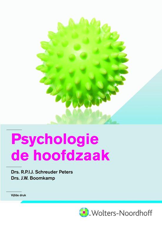 Psychologie de hoofdzaak