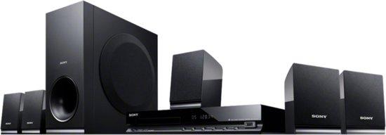 Sony DAV-TZ140 - 5.1 Home cinema set - Zwart