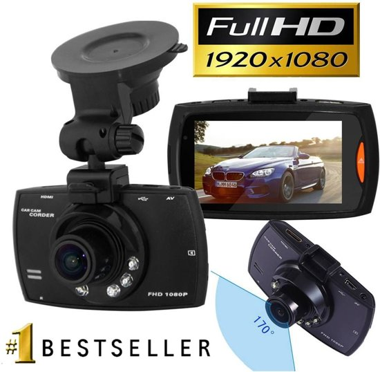 Dashcam Black Diamond Full HD 1080p - 2.7 Inch