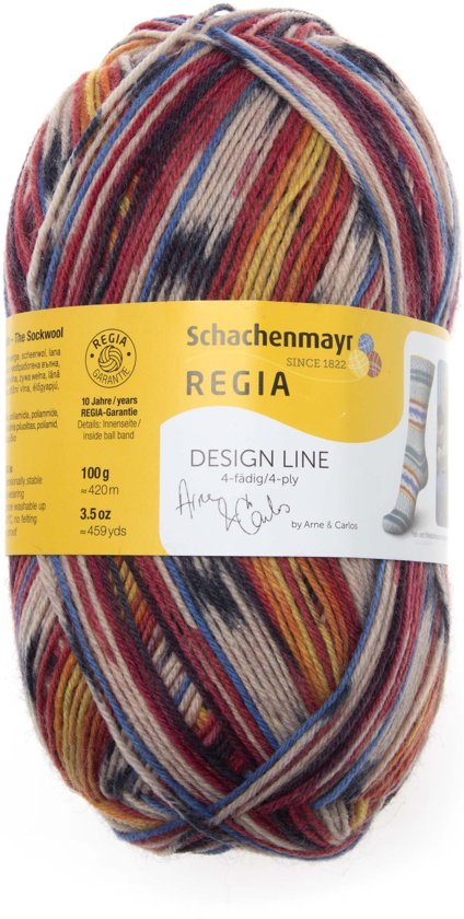 Breiwol Regia Design Line kleur 02461 in Geeuwenbrug
