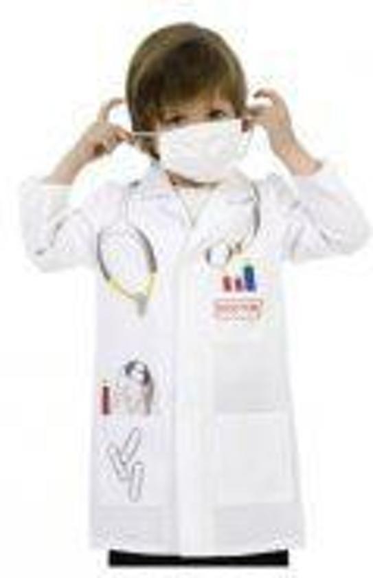 Dokter kostuum 2 delig  voor kinderen in de maat 104/116 in Bellaire