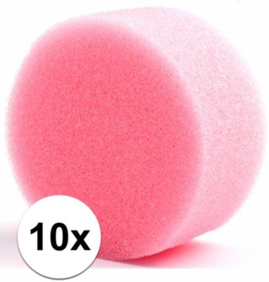 Tien ronde grimas schmink sponsjes in Engeland