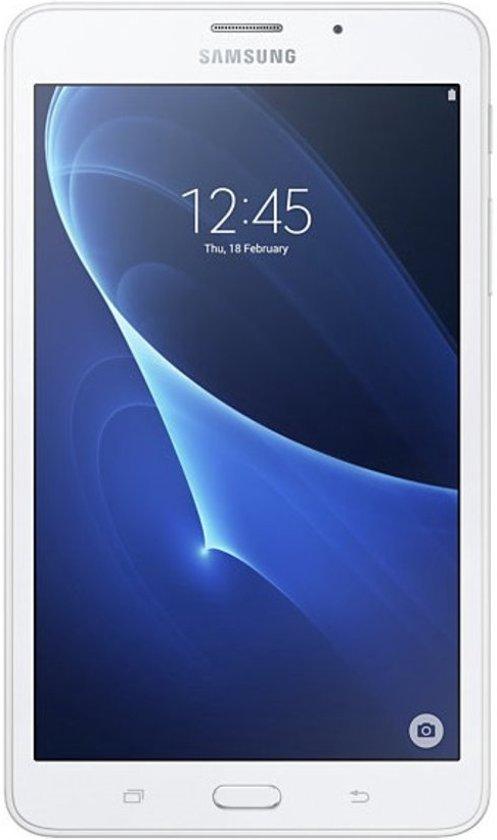 Samsung Galaxy Tab A - 7.0 inch - WiFi - Wit - Met 3800mAh Samson Powerbank
