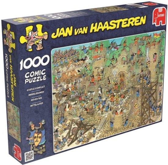 Jan van Haasteren Middeleeuwen - Puzzel - 1000 stukjes