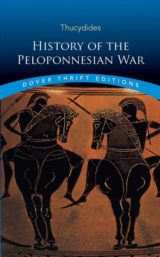 thucydides a history of the peloponnesian war pdf