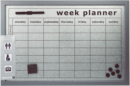 Keuken Kind Hema : bol.com pt, Memobord/Weekplanner – 60×40 cm Koken en tafelen