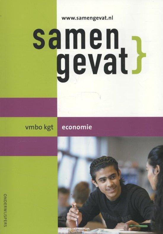 Samengevat - VMBO-Kgt Economie