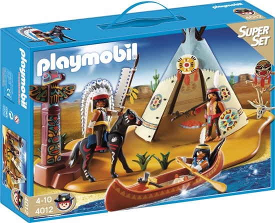 Playmobil Superset Indianenstam - 4012 in Tolbert