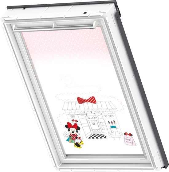 velux verduisterend rolgordijn disney minnie mouse handbediend raamcode. Black Bedroom Furniture Sets. Home Design Ideas