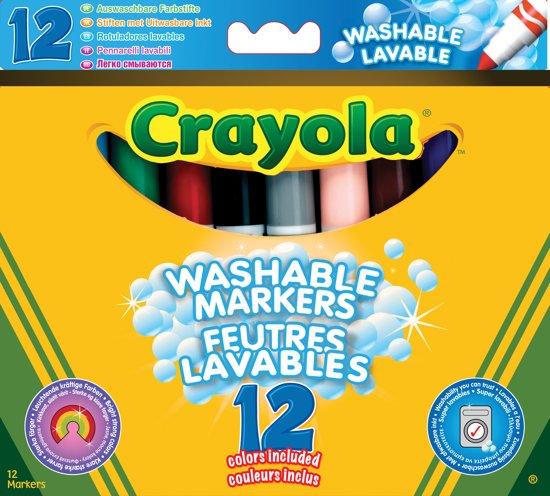 Crayola 12 Viltstiften met kegelpunt in Dieden
