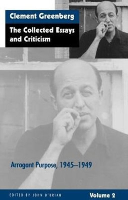 collected essays criticism greenberg