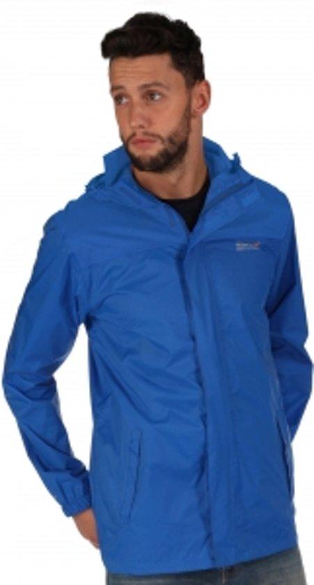 Regatta Regenjas - Maat XXL  - Mannen - blauw in Stad aan \'t Haringvliet