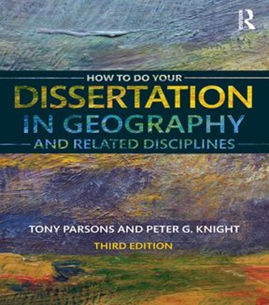 doing a dissertation in geography Single honours geography dissertation handbook 2009-2010 department of geography, exeter university geo2310: human geography practice geo3301: dissertation.