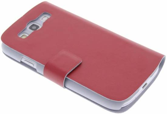 Rode Keukenapparaten : bol.com Rode stijlvolle booktype hoes – Samsung Galaxy S3 / Neo