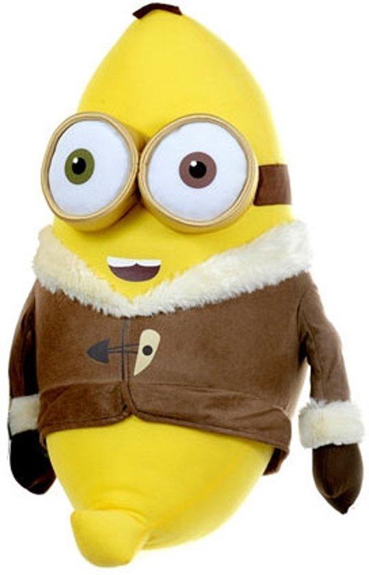 Bol Com Pluche Minion Knuffel Bob Als Banaan Ijstijd
