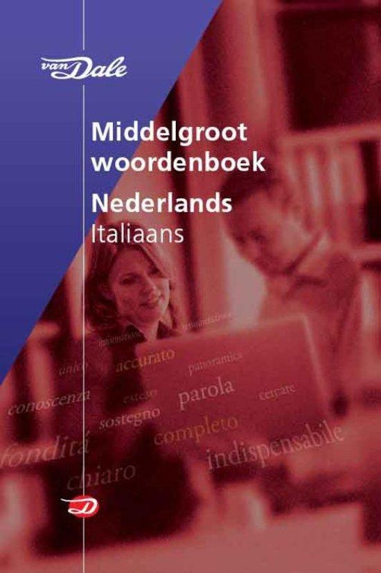 Van Dale Middelgroot woordenboek Nederlands-Italiaans in Barchon
