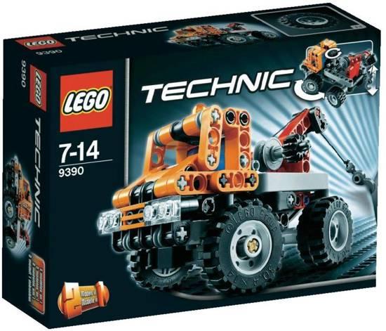 lego technic mini takelwagen 9390 lego. Black Bedroom Furniture Sets. Home Design Ideas