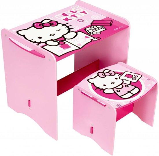 Hello Kitty - Bureau met stoeltje - Roze in Geulhem