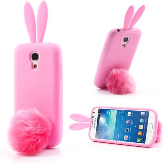 bol.com : Samsung Galaxy S4 Mini Rabbit Silicone Case Pink ...