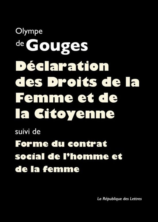 D claration des droits de la femme et de la citoyenne ebook adobe - Droits des proprietaires et des locataires ...