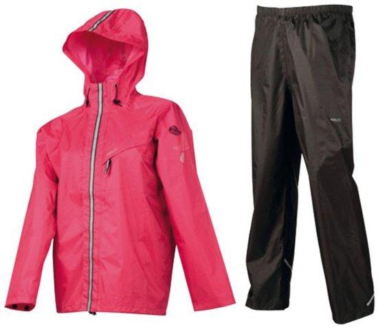 AGU Splash Junior - Regenpak - Kinderen - Maat 128 - Roze in Desselgem