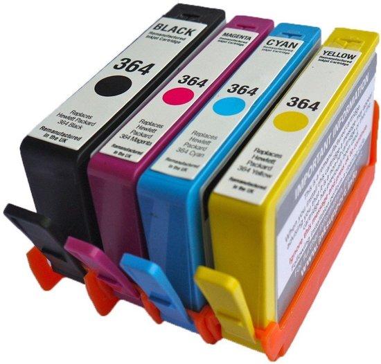 Huismerk - Inktcartridges voor HP 364 - kleur/zwart - Multipack XL