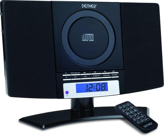 denver mc 5220 radio cd speler zwart. Black Bedroom Furniture Sets. Home Design Ideas