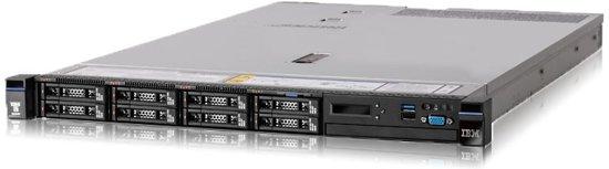 Lenovo System x x3550 M5 2.4GHz E5-2630V3 550W Rack (1U)