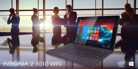 Een 2 in 1 tablet met Windows 10 OS. Notebook functies met afneembaar toetsenbord, Quad core, 32GB