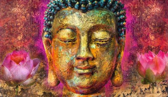 bol.com : REINDERS Boeddha - Schilderij - 135x78cm : Wonen