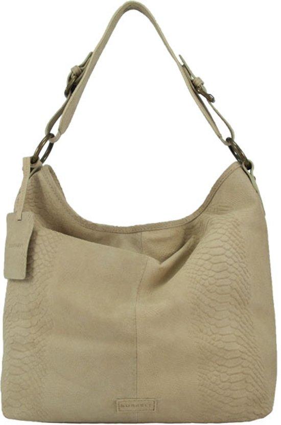 Burkely damestas : Bol burkely leren damestas snakeprint beige bags