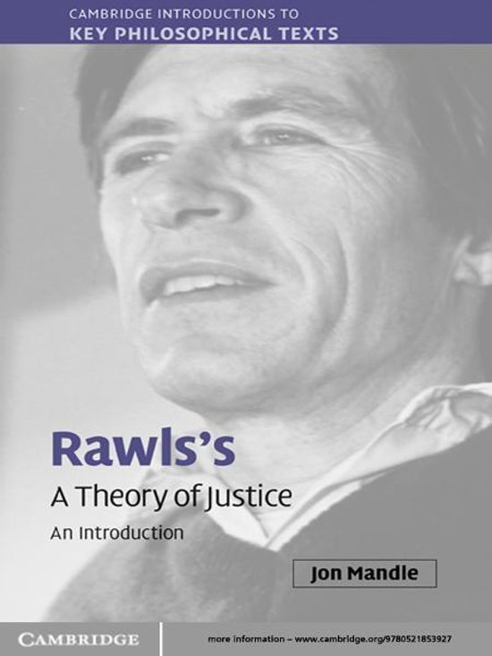 an introduction and an analysis of rawls theory of justice And ethics, leading the author to question the validity of rawls's analytical  approach john kawls's  his is often accepted as the final definition of justice at   rawls has developed two principles of justice from his hypothetical original  position.