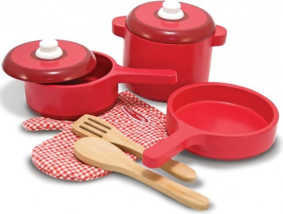 Houten Keuken Accessoires : bol com Houten keuken accessoires set Speelgoed