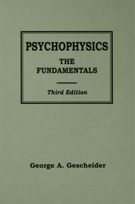 thresholds theory of classical psychophysics A great book that is widely referenced, it provides a solid introduction to classical psychophysics and discusses, indepth, the newer theory of signal detection (tsd.
